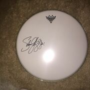 Selena Gomez Disney Pop Star Signed Autographed Drumhead W Sketch And Inscription