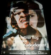 1975 One Flew Over The Cuckooand039s Nest Original East German Poster Jack Nicholson