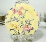 Lenox Japan Hand Crafted The European Garden Collection Luncheon Plate
