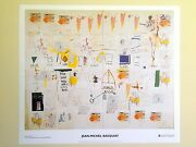 Jean Michel Basquiat Estate Lithograph Print Exhibition Poster Icarus Esso 1986