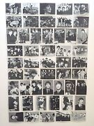 Vintage 1964 Topps Beatles 3rd Series Bandw Signature Trading Cards Complete Set