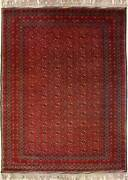 Rugstc 6.5x10 Senneh Caucasian Design Red Rughand-knottedtribal Special Mori B