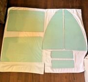 1957 Lincoln Premiere Tinted Side Window Glass Right Left Six Panels