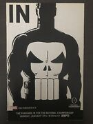 Punisher Espn Marvel Comic Book Variant In For The Championship 14