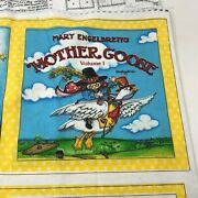Mary Englebreit Mother Goose V1 Soft Book Sewing Fabric Panel Instructions 2006