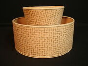 Vintage Parchment Paper Small Lamp Shade Mid Century Modern