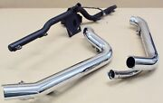 Harley Original Exhaust Elbow And Holder Exhaust Pipe And Bracket Softail Fxcw
