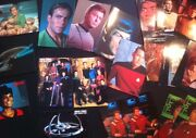 Star Trek Postcard Lot Of 20 Tos Tng Ds9 St Vi 80s-90s Foreigncard Rare