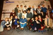 Dr Who Convention Signed Visionsand03993 Photo Owned By Jean Marc Lofficier X23 Auto