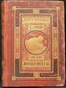 Verne Jules. Adventures In The Land Of The Behemoth. First Edition