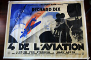 The Lost Squadron 1932 90.5 X 121.5 French Movie Poster Lb