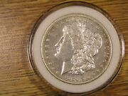 1884-s Uncirculated Morgan Dollar Key Coin For Your Bu Collection Airtite