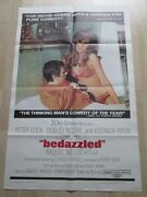 Peter Cook And Dudley Moore And039bedazzledand039 Original Usa Film Poster