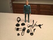 Vintage Louis Marx Captain Maddox Action Figure With Insignias And Accessories