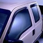 Fits The Ford F-150 2015 Super Cab Smoked Ventshades 4 Pieces Set