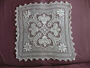 1727 Beautiful Vintage Hand Made Tablecloth 91cm/85cm36''x33.5''
