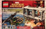 Lego 76007 Super Heroes Iron Man 3 Marvel Malibu Mansion Attack New In Box A