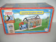 New Thomas And Friends Wooden Train Useful Engine Shed Retired