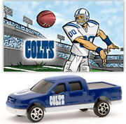 Indianapolis Colts Ford F-150pickup Diecast 187 Scale W/sticker New