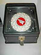 Vintage 10 Cent Coin - Operated Counter Top Poker Machine Amusement For Repair