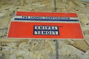 Lionel 3484 Pennsylvania Operating Box Car Box Only