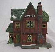Department Dept 56 Dickensand039 Village Browning Cottage Portobello Road Thatches