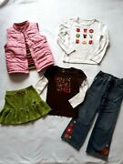 5 Pc Girls Gymboree Fall For Autumn Lot Size 6 And 7