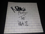 Nick Mason Pink Floyd Drummer Signed Autographed The Wall Cd Booklet Only Rare
