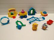 Fisher Price Little People Carnival Circus Miscellaneous Mixed Lot Set 5 Pieces