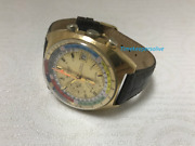 C552 1960s Wakmann Automatic Regata Chronograph Day Date Exotic Dial Watch