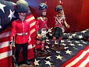 Vintage British Lead Soldiers Reduced From London Very Fine 1970's