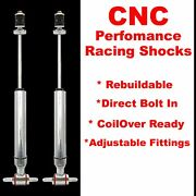 1974 - 1978 Ford Mustang Front Performance Shocks - Pair 351 Bbc 510 Flathead