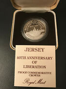 Jersey 40th Anniversary Of Liberation Proof With Coa Free Shipping