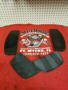 Slightly Used Touring Bike Rubber Foot Board Inserts