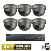 8channel Hdtvi Dvr 1080p Sony Cmos 4-in-1 Ahd 2.6mp Security Camera System 3er