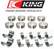 King Cr808si Mb556si Rod+main Bearings Set For Bbc Chevy 396 402 427 454 496 502