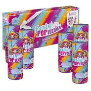 Party Popteenies – Party Pack – 6 Surprise Popper Bundle With Confetti