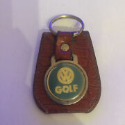 Vintage Vw Key Ring Keychain Tag Chain Key Fob Golf Gti 16v Volkswagen