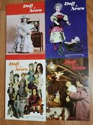 Doll News Ufdc Magazine - Lot Of 4 - Year Of 1983