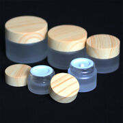 1/3/5/10pc Cosmetic Container Facial Cream Jar Thick Glass Bottles Beauty Bottle