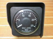 Bandg Brookes And Gatehouse Hydra Hercules H2000 Synchro 25 Knot Boat Speed Gauge