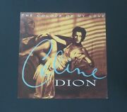 Celine Dion -promotional 12 X 12 Card Flat The Colour Of My Love