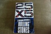 The Rolling Stones - 25 X 5 Rare Promo Vhs Video Tape