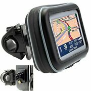 Handle Bar Mount For Your Garmin Tom-tom Magellan And Other Gps With 5 Screen