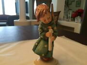 7 Inch Colorful Hummel Heavenly Angel 21/i, Made By Goebel In West Germany Mint