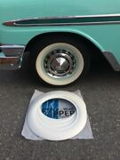 Good Year Tire Style 4x15 Wide Whitewall Trim Chevy Bel Air 150/210 Ford Vw Bug