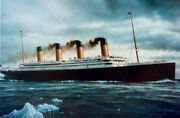 Titanic Art Print...limited Ed. Of 690 Sold Out For 30 Years