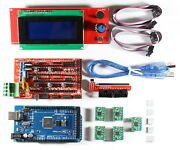 Ramps 1.4 Kit With Shield Mega 2560 5x A4988 2004 Lcd For Reprap 3d Printer