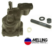 Melling M155 Oil Pump 3/4 Inlet+arp Stud For Chevy Sb 305 350 5.7 Lt1 1993-02