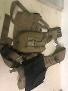 Used Coyote Brown Sds Zippered Flc Vest Specialty Defense Systems. Military Iss